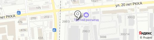 Гастроном на карте Омска