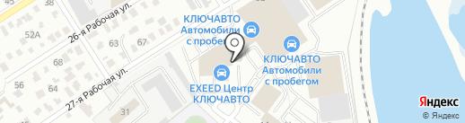 Datsun на карте Омска