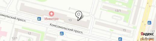 Шашлычный дворик на карте Сургута