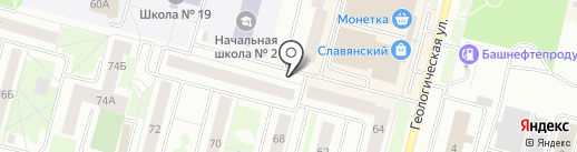 СантеХ на карте Сургута