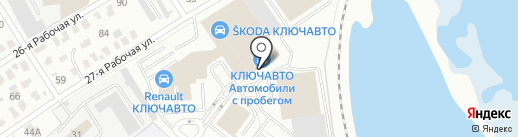 Citroen на карте Омска