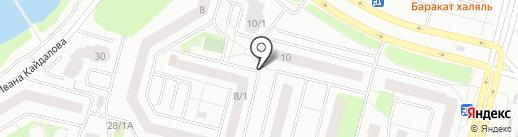 Киоск по ремонту обуви на карте Сургута