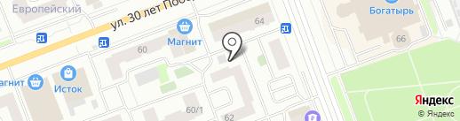 АККОРД на карте Сургута