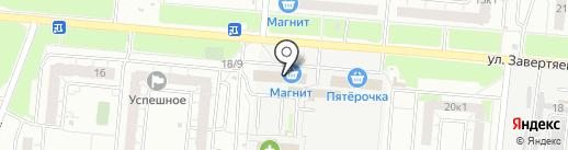 ELFS на карте Омска