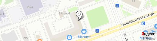 Клеопатра на карте Сургута