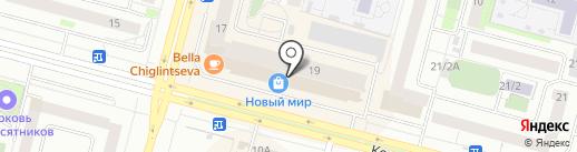 Фабрика Моды на карте Сургута