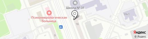 Дом сервиса на карте Сургута