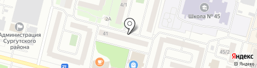 Демонтаж-Сервис на карте Сургута