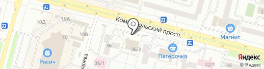 Фифа на карте Сургута