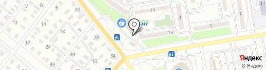 Киоск по продаже яиц на карте Омска