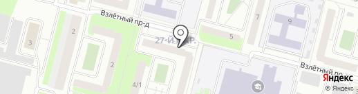 ЖЭУ-4 на карте Сургута
