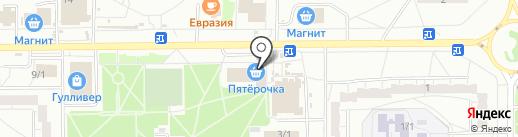 Рыба-Fish на карте Омска