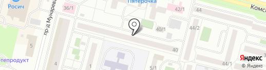 ФОЛИАНТ на карте Сургута