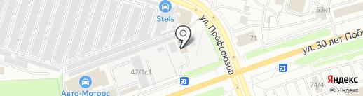 Посейдон на карте Сургута