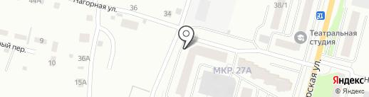 Полином на карте Сургута