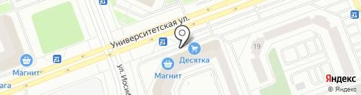 Первое ателье на карте Сургута