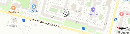 Компания по ремонту компьютеров на карте Сургута