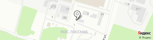 Автоперсона на карте Сургута