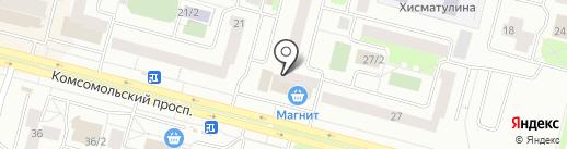 Банк ВТБ 24, ПАО на карте Сургута