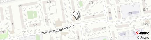Пекарня на карте Омска