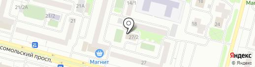 ДЕЗ Восточного жилого района на карте Сургута