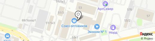 Липа мебель на карте Сургута