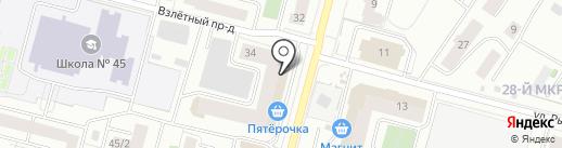 Мастерская по ремонту обуви и изготовлению ключей на карте Сургута