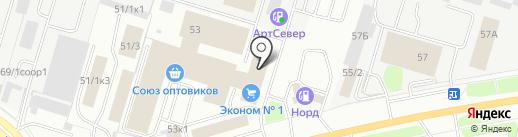 Карамелька на карте Сургута