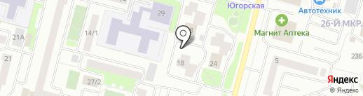 Стандарт Плюс на карте Сургута