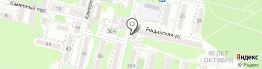 Магазин сухофруктов на карте Омска