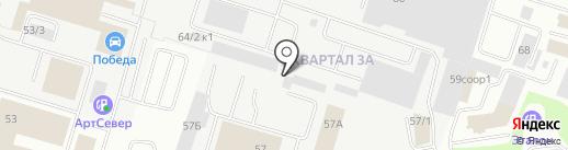 Аркада на карте Сургута