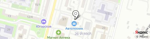 Mobil 1 на карте Сургута