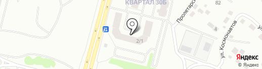 БизнесПрофи на карте Сургута