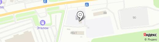 Буфет на карте Сургута