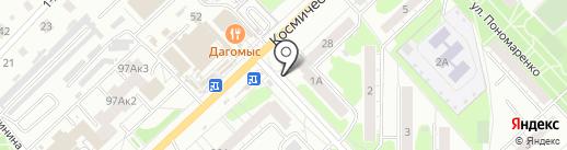 ОмскТрансКарт на карте Омска