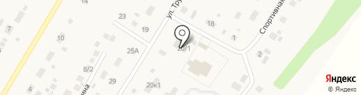 Сеть продовольственных магазинов на карте Пушкино