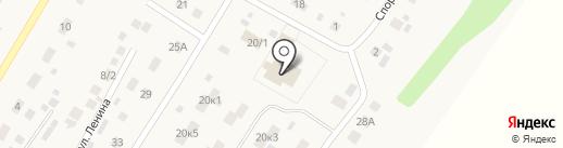 Добрава на карте Пушкино