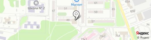 Магазин фитопродукции на карте Омска