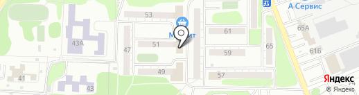 Банкомат, Сбербанк, ПАО на карте Омска