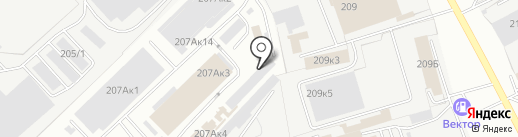 Оптово-розничная компания на карте Омска