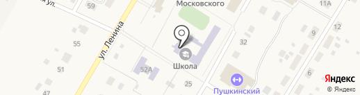 Пушкинская средняя общеобразовательная школа на карте Пушкино