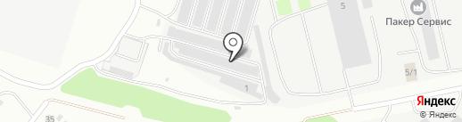 Pldip-Surgut на карте Сургута