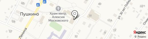 Апельсин на карте Пушкино