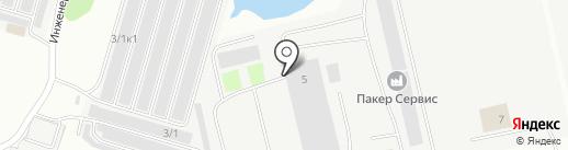 Завод Стальных Шпунтовых Конструкций №1 на карте Сургута