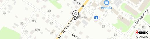 Версаль на карте Сургута