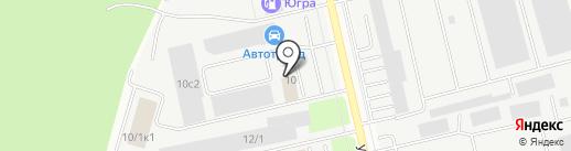 К-информ на карте Сургута
