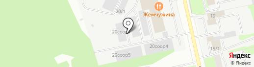 Оптовый склад кондитерских изделий на карте Сургута