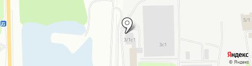 Транспортно-сервисная компания на карте Сургута