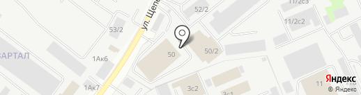 ССК на карте Сургута