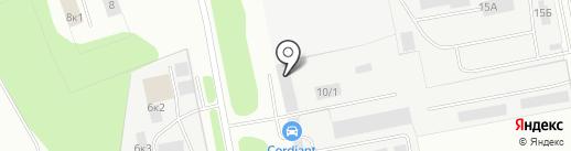 Белшина на карте Омска